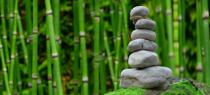 Kamienie zen - symbol japońskiej techniki autorefleksji i wdzięczności Naikan